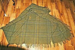 Awesome And Extremely Rare Original Csa Enlisted Troop Blanket