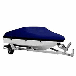 17-19ft 600d Fabric Waterproof Boat Cover W/ Storage Bag 95and039and039 Beam Fishing Base