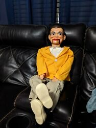 Jerry Mahoney Ventriloquist Dummy With Brown Hair.