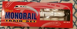 Vintage Walt Disney World Monorail Train And Track Toy Set - Red