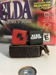 Red Dead Redemption Liar's Dice Ii 2 Promo Ps3 Ps4 Rare Video Game Swag