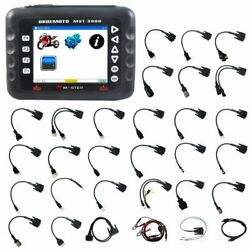 Mst-3000 Universal Motorcycle Scanner Fault Code Scan Tool For Motorcycle Master