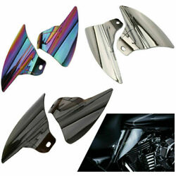 Mid-frame Engine Air Deflector Heat Shield For Harley Touring Road Glide 09-16