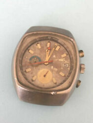 Vintage Omega Chronograph Seamaster Ref.176.005 Cal.1040 Tiks But Sold For Parts
