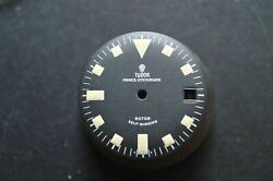 Vintage Tudor Oyster Date Rotor Self Winding Cal390 Watch Black Dial Onl
