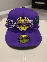 New Era Los Angeles Lakers Basketball Cap - Purple And Gold