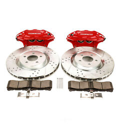 Power Stop For 05-14 Ford Mustang Front And Rear Big Brake Conversion Kit - Psbbbk