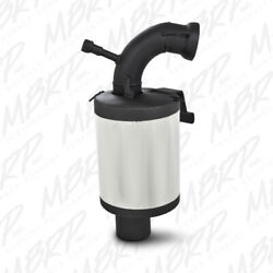 Mbrp Stainless Steel Snowmobile Trail Silencer For 2009-2016 Ski-doo 600 Etec