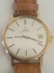 Omega Automatic Vintage Ref.166 0202 Gold Platted