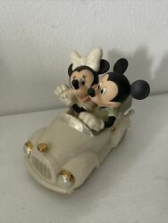 Lenox Disney Showcase Collection Mickeyand039s Moonlight Drive Mickey And Minnie