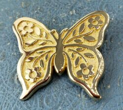 James Avery Retired 14k Butterfly Brooch Convertible To Pendant Solid Gold Heavy