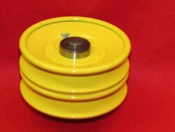 Early Ho39 Deck 4 1/8 Double Drive Pulley John Deere 110 112 Round Fender