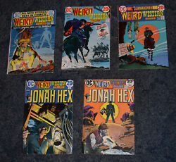 Dc Comics Weird Western Tales Jonah Hex Issues 13151718 And 19 1973