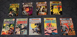 Dc Comics Weird Wester Tales Jonah Hex Issues 2021232425262728 And 29 1974