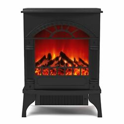 Gibson Living Apollo Electric Fireplace Free Standing Portable Space Heater S...
