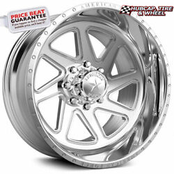 American Force Canyon Ck12 Concave Polished 30x16 Truck Wheel 8 Lug Set Of 4