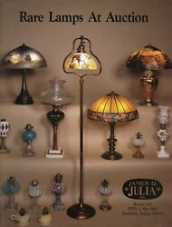 Art Glass Lamps - Gone With Wind Hanging Miniature Stem Finger / Book + Values