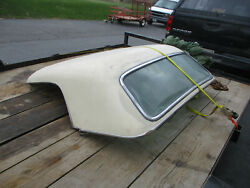 Ford 1955 19561957 T-bird Hard Top Non Port Hole White Needs Restoring