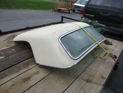 Ford 1955 1956,1957 T-bird Hard Top Non Port Hole White Needs Restoring