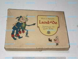 Wizard Of Oz Land Of Oz Rare 1922 Stationery Set Complete Unused In Box Denslow