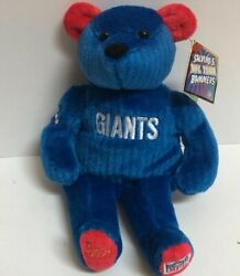 Rare Salvino's Ny Giants Bear Nfl Team Bammers - Brand New W/tag - Numbered 2