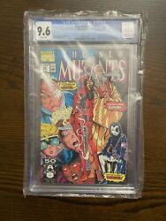 New Mutants 98 1st Deadpool And New Mutants 87 1st Cable Both Cgc 9.6