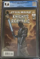 Star Wars Knights Of The Old Republic 9 - 1st Appearance Of Revan Cgc 9.6