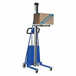 Office Work Positioner Lift Truck, Battery Powered, 220 Lb. Capacity