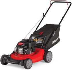 Craftsman 140cc Gas Powered Push 21-inch 3-in-1 Lawn Mower With Bagger