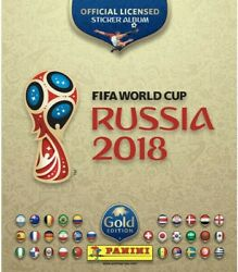 2018 Panini Russia World Cup Swiss Gold Stickers Pick And Complete Set