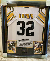 Pittsburgh Steelers Franco Harris 32 Signed Nfl Jersey Rare Psa/dna Certified