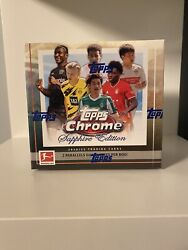 💥✔🔥2020/21 Topps Bundesliga Chrome Sapphire Factory Sealed Boxes In Hand🔥✔💥