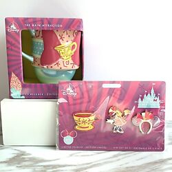 Disney Minnie Mouse Main Attraction March 3 Of 12 Tea Party Pins And Mug