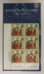 Gb 1999 26p Millennium Entertainers Tale Cylinder Block Stamp Format Pack Scarce