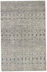 Jaipur Living Abelle Hand-knotted Medallion Gray/ White Area Rug 9and039x13and039