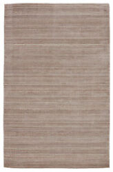 Jaipur Living Gradient Handwoven Solid Light Taupe/ Gray Area Rug 9and039x12and039