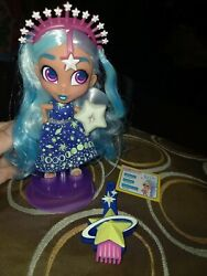 Hairdorables Shine Bright Neila Doll Glow In The Dark Rare Stars Planets Htf Toy
