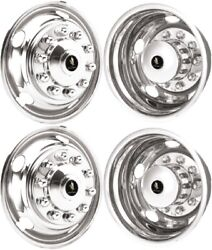 Chevrolet Gmc 4500 5500 6500 19and039and039 Stainless Steel Hubcap Simulators