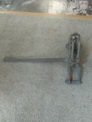 Antique 1905 Dillon Large Ratcheting Wire Fence Stretcher Come Along