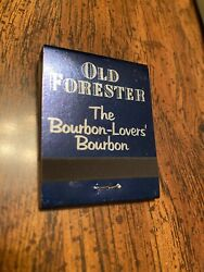 50 New Old Stock Old Forester Whisky Matchbooks