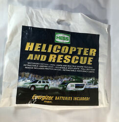 Bag Only Empty 2012 Hess Truck Toy Helicopter Rescue Gas Station Christmas Prop