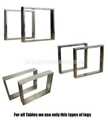 Custom Trapezoid Table Leg 2 Wide Rustic Iron Sold Individually Table Legs