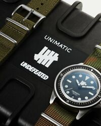 New Undefeated X Unimatic Modello Uno U1-u 40mm Watch - Only 250 Made Sold Out