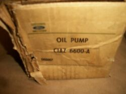 Nos 1955- 63 Ford 6 Cyl 215 223 Engine Oil Pump C1az-6600-a Remanufactered