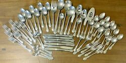 Service For 8 40 Pieces Queen's Court Stainless Flatware Spoons Forks Knives