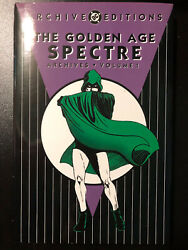 The Golden Age Spectre Dc Archives Edition Vol 1 Hc Hardcover Htf