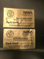 Nasa Space Exposed Tomato Seeds,1984 Space Shuttle Challenger + 1990 Columbia