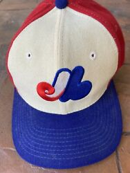 Vintage montreal Expos Sports Specialties Mlb Fitted 7 3/8 Wool Hat