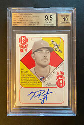 2015 Topps Heritage '51 Kris Bryant Gold 1/1 Auto Rc Rookie Card Bgs 9.5 Gem