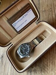 Yema Superman Gmt 39mm Black/grey 300m Limited Edition Dive Watch - 43 Of 150